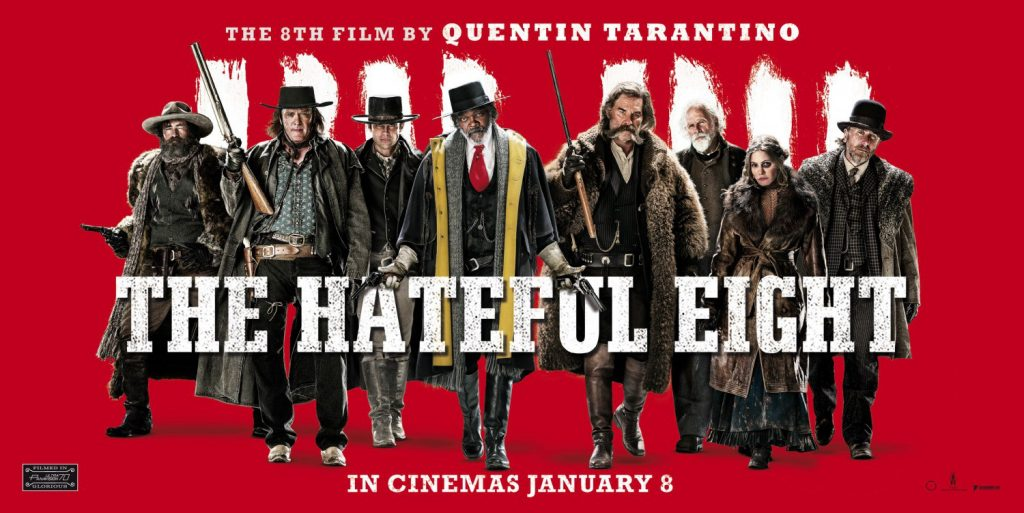 The Hatefull Eight - Promotional Poster - Pirates Claim Cracked DCP